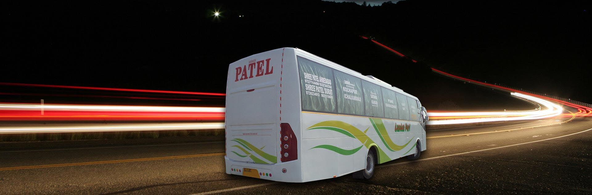 Shree Patel Travels Online Bus Ticket Booking